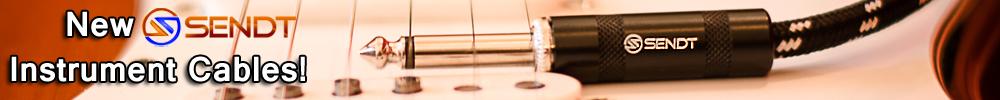 Sendt Instrument Cable Banner