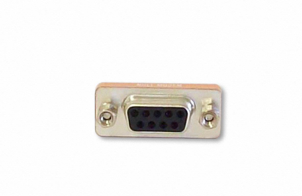 Serial Port 9 Pin Null Modem Adapter DB9 Female / Female