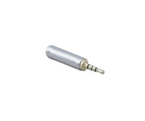 "YCS Basics All Metal 2.5mm (3/32"") male to 3.5mm (1/8"") female 4 conductor (TRRS) adapter"