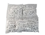 Your Cable Store 100 Pack White Nail-in Ethernet / RG59 Cable Clips (6mm) 5 Pack