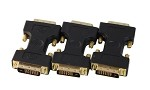 Your Cable Store DVI D Dual Link Male to Male Adapter 3 Pack