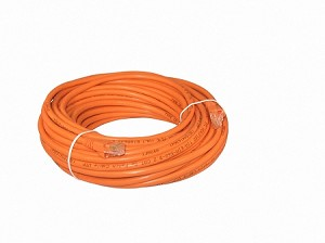 Orange 50 Foot Cat 5e 350MHz Snagless Ethernet Cable