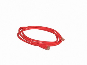 Red 5 Foot Cat 5e 350MHz Snagless Ethernet Cable