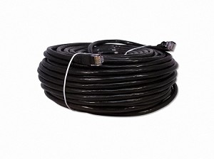 Black 100 Foot Cat 6 Ethernet Patch Cable