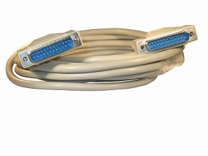Your Cable Store 15 Foot DB25 25 Pin Serial Port Cable Male / Male RS232