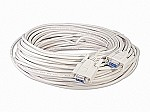 100 Foot DB9 9 Pin Serial Port Cable Female / Female RS232