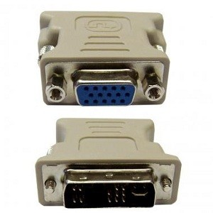 DVI Analog Male / SVGA  Female Adapter