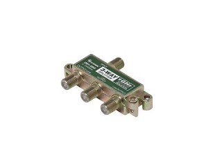 F-Pin (Coax) 3 Way Splitter 1 GHz 90dB