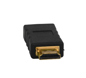 HDMI Male To Female Adapter Gold Plated