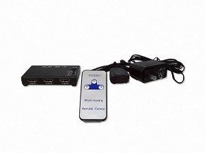 3 Port HDMI 1.3b Switch With Remote