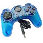 Blue USB Game Pad For PC GamePad / JoyPad
