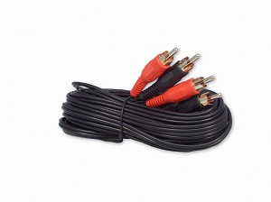 25 Foot RCA Audio Cable 2 Male To 2 Male