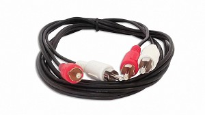 6 Foot RCA Audio Cable 2 Male To 2 Male