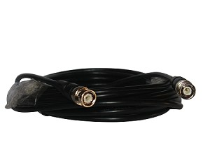 25 Foot RG58 / AU Stranded BNC Cable, Braided