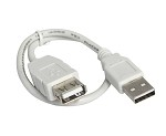 1 Foot USB 2.0 High Speed Extension Cable