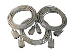25 Foot DB9 (Serial Port 9 Pin) Extension Cable 3 Pack