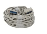 Your Cable Store 100 Foot DB25 25 Pin Serial Port Cable Male / Male RS232