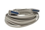 Your Cable Store 50 Foot DB25 25 Pin Serial Port Cable Male / Male RS232