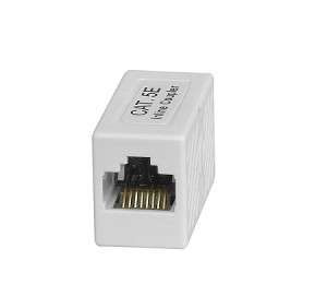 Your Cable Store Inline Ethernet Coupler CAT 5e / RJ45