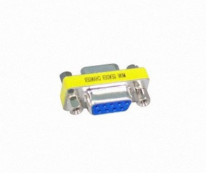 Your Cable Store Serial 9 Pin Female / Female Coupler Adapter DB9 RS232