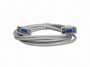10 Foot DB9 9 Pin Serial Port Cable Female / Female RS232